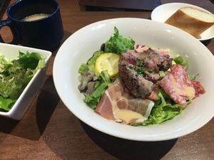 炙り薄切りステーキサラダタパスランチ01.JPG